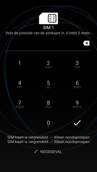 Sony Xperia L1 - Device maintenance - Een soft reset uitvoeren - Stap 4