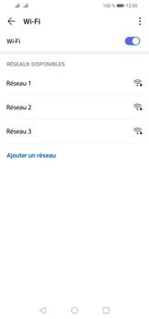 Huawei P30 Lite - Wifi - configuration manuelle - Étape 5