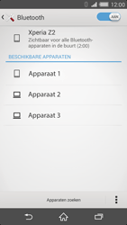 Sony Xperia Z2 4G (D6503) - Bluetooth - Aanzetten - Stap 6