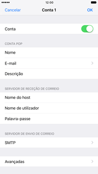 Apple iPhone 7 Plus - Email - Configurar a conta de Email -  26