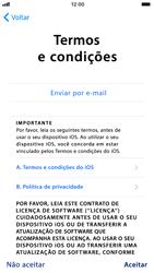 Apple iPhone 8 - Primeiros passos - Como ativar seu aparelho - Etapa 20