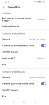 Huawei P30 Lite - Messagerie vocale - configuration manuelle - Étape 6