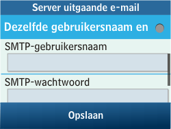 Samsung C3500 Chat 350 - E-mail - Handmatig instellen - Stap 20