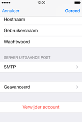 Apple iPhone 4 iOS 7 - E-mail - Account instellen (POP3 zonder SMTP-verificatie) - Stap 20