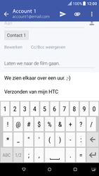 HTC One A9 - Android Nougat - E-mail - Bericht met attachment versturen - Stap 10