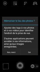 Wiko Rainbow Lite 4G - Photos, vidéos, musique - Prendre une photo - Étape 3
