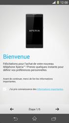 Sony Xpéria Z1 - Premiers pas - Créer un compte - Étape 3