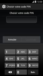 Bouygues Telecom Ultym 5 II - Sécuriser votre mobile - Activer le code de verrouillage - Étape 7