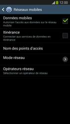 Samsung Galaxy Grand 2 4G - Aller plus loin - Désactiver les données à l'étranger - Étape 7