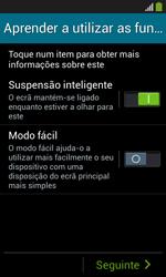 Samsung Galaxy Grand Neo - Primeiros passos - Como ligar o telemóvel pela primeira vez -  14