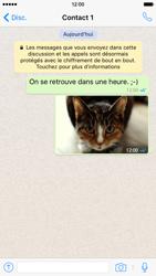 Apple iPhone 6 iOS 9 - WhatsApp - Partager des photos et votre emplacement avec WhatsApp - Étape 21