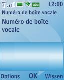 Nokia 3110 classic - Messagerie vocale - configuration manuelle - Étape 7