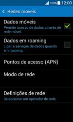 Samsung Galaxy Ace 4 - Internet no telemóvel - Como configurar ligação à internet -  6