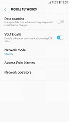 Samsung Galaxy J3 (2017) - Network - Change networkmode - Step 9