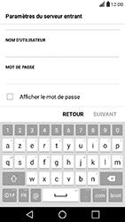 LG X Power - E-mail - Configuration manuelle - Étape 10