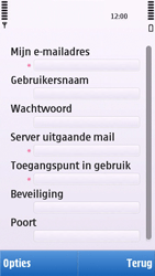 Nokia C5-03 - E-mail - e-mail instellen: POP3 - Stap 24