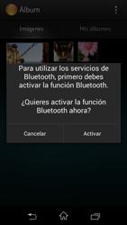 Sony Xperia L - Bluetooth - Transferir archivos a través de Bluetooth - Paso 9