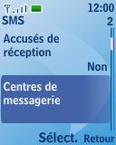 Nokia 3110 classic - SMS - configuration manuelle - Étape 6