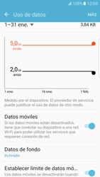 Samsung Galaxy S7 Edge - Internet - Ver uso de datos - Paso 10