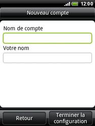 HTC A3333 Wildfire - E-mail - Configuration manuelle - Étape 9