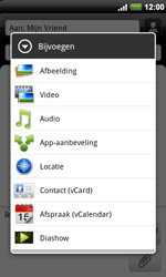 HTC A9191 Desire HD - MMS - hoe te versturen - Stap 9