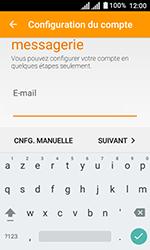 Alcatel U3 - E-mails - Ajouter ou modifier un compte e-mail - Étape 7