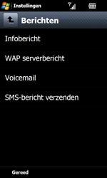 Samsung I8000 Omnia II - Voicemail - handmatig instellen - Stap 8