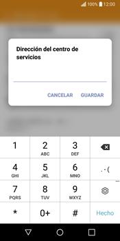 LG Q6 - Mensajería - Configurar el equipo para mensajes de texto - Paso 8
