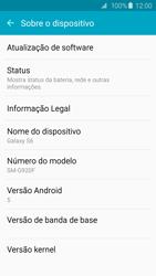 Samsung Galaxy S6 - Primeiros passos - Como encontrar o número de IMEI do seu aparelho - Etapa 5
