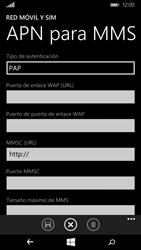 Microsoft Lumia 640 - Mensajería - Configurar el equipo para mensajes multimedia - Paso 9