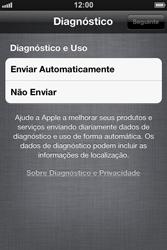 Apple iPhone iOS 5 - Primeiros passos - Como ativar seu aparelho - Etapa 24