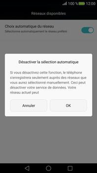 Huawei Mate S - Réseau - Sélection manuelle du réseau - Étape 7