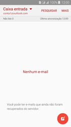 Samsung Galaxy J3 Duos - Email - Como configurar seu celular para receber e enviar e-mails - Etapa 7