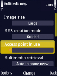 Nokia N86 - MMS - Manual configuration - Step 24