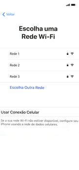 Apple iPhone X - iOS 12 - Primeiros passos - Como ativar seu aparelho - Etapa 8