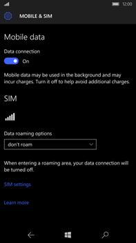 Microsoft Lumia 950 XL - Internet - Manual configuration - Step 7