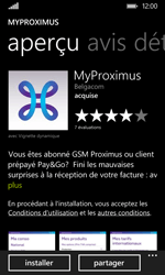 Nokia Lumia 530 - Applications - MyProximus - Étape 8