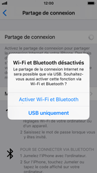 Apple iPhone SE - iOS 11 - Internet et connexion - Partager votre connexion en Wi-Fi - Étape 7
