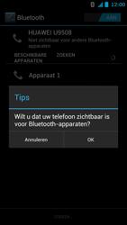 Huawei Ascend G615 - Bluetooth - headset, carkit verbinding - Stap 6