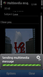 Nokia C6-01 - Mms - Sending a picture message - Step 13