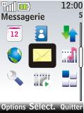 Nokia 2720 fold - Messagerie vocale - Configuration manuelle - Étape 3