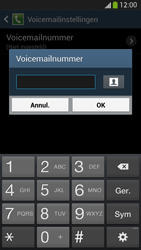 Samsung I9505 Galaxy S IV LTE - Voicemail - Handmatig instellen - Stap 8