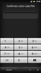 Sony Xpéria S - Sécuriser votre mobile - Activer le code de verrouillage - Étape 9