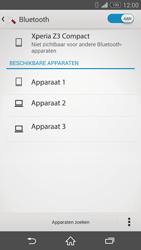 Sony Xperia Z3 Compact 4G (D5803) - Bluetooth - Aanzetten - Stap 5