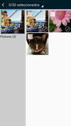 Samsung Galaxy A3 - Mensajería - Escribir y enviar un mensaje multimedia - Paso 21