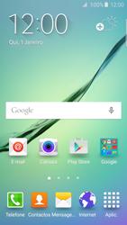 Samsung Galaxy S6 Edge - Internet no telemóvel - Como ativar os dados móveis -  1