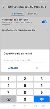 Huawei P30 Pro - Sécurité - modifier SIM PIN - Étape 9