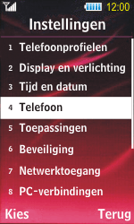 Samsung S7350 Ultra Slide - Buitenland - Bellen, sms en internet - Stap 4