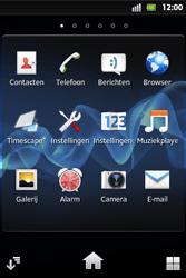 Sony ST27i Xperia Go - MMS - afbeeldingen verzenden - Stap 2