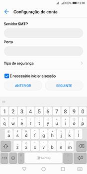 Huawei Y6 (2018) - Email - Configurar a conta de Email -  13